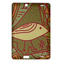 Brown Bird Amazon Kindle Fire Hd (2013) Hardshell Case by Valentinaart