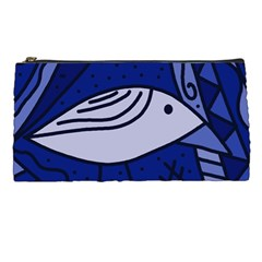 Blue Bird Pencil Cases by Valentinaart