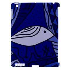 Blue Bird Apple Ipad 3/4 Hardshell Case (compatible With Smart Cover) by Valentinaart