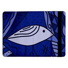 Blue Bird Samsung Galaxy Tab Pro 12 2  Flip Case