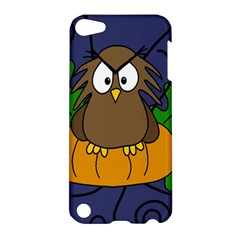 Halloween owl and pumpkin Apple iPod Touch 5 Hardshell Case