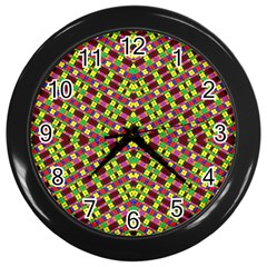 Planet Light Wall Clocks (black) by MRTACPANS