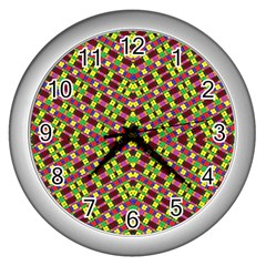 Planet Light Wall Clocks (silver)  by MRTACPANS