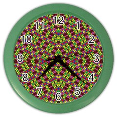 Tishrei King Four I Color Wall Clocks by MRTACPANS