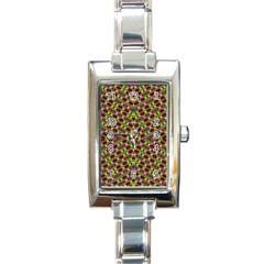 Tishrei King Four I Rectangle Italian Charm Watch by MRTACPANS