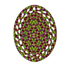Tishrei King Four I Ornament (oval Filigree)  by MRTACPANS