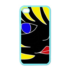 Blond Girl Apple Iphone 4 Case (color) by Valentinaart