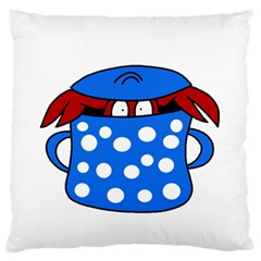 Cooking Lobster Standard Flano Cushion Case (two Sides) by Valentinaart