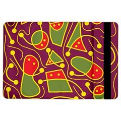 Playful Decorative Abstract Art Ipad Air 2 Flip by Valentinaart