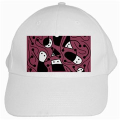 Playful abstraction White Cap