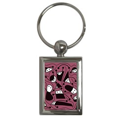 Playful Abstraction Key Chains (rectangle)  by Valentinaart