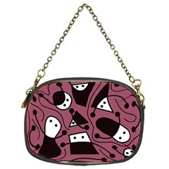 Playful Abstraction Chain Purses (one Side)  by Valentinaart