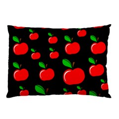 Red Apples  Pillow Case by Valentinaart