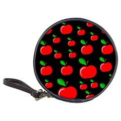 Red Apples  Classic 20 Cd Wallets by Valentinaart