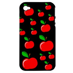Red apples  Apple iPhone 4/4S Hardshell Case (PC+Silicone)