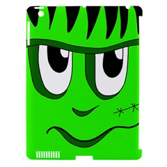 Halloween Frankenstein   Green Apple Ipad 3/4 Hardshell Case (compatible With Smart Cover) by Valentinaart