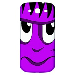 Halloween   Purple Frankenstein Samsung Galaxy S3 S Iii Classic Hardshell Back Case by Valentinaart