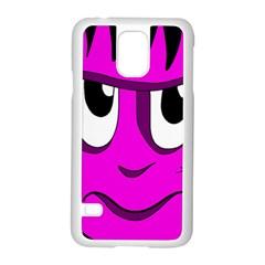 Halloween   Pink Frankenstein Samsung Galaxy S5 Case (white) by Valentinaart