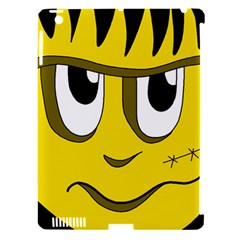 Halloween Frankenstein   Yellow Apple Ipad 3/4 Hardshell Case (compatible With Smart Cover) by Valentinaart