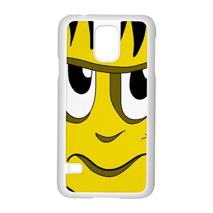Halloween Frankenstein - yellow Samsung Galaxy S5 Case (White)