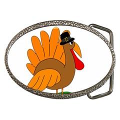 Thanksgiving Turkey   Transparent Belt Buckles by Valentinaart