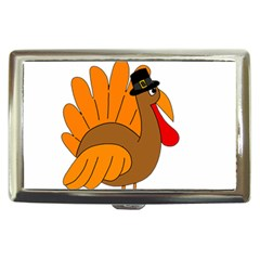 Thanksgiving Turkey   Transparent Cigarette Money Cases by Valentinaart