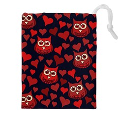 Owl You Need In Love Owls Drawstring Pouches (xxl)