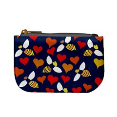 Honey Bees In Love Mini Coin Purses by BubbSnugg