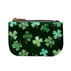 Lucky Shamrocks Mini Coin Purses by BubbSnugg