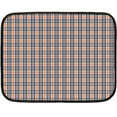 Chequered Plaid Double Sided Fleece Blanket (mini)  by olgart