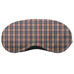 Chequered Plaid Sleeping Masks by olgart