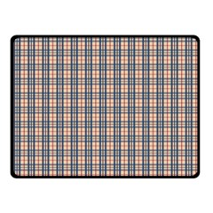 Chequered Plaid Fleece Blanket (small) by olgart