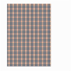 Chequered plaid Large Garden Flag (Two Sides) by olgart