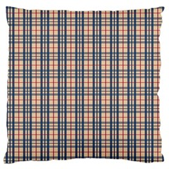 Chequered plaid Standard Flano Cushion Case (Two Sides) by olgart
