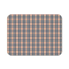 Chequered Plaid Double Sided Flano Blanket (mini)  by olgart