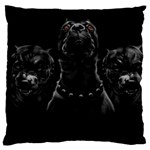 Hungry Dogs Large Cushion Case (Two Sided)