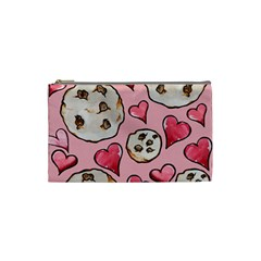Chocolate Chip Cookies Cosmetic Bag (small)