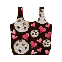 Chocolate Chip Cookies Full Print Recycle Bags (m)  by BubbSnugg