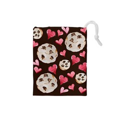 Chocolate Chip Cookies Drawstring Pouches (Small)
