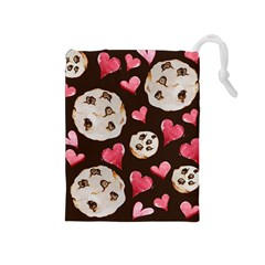 Chocolate Chip Cookies Drawstring Pouches (medium)  by BubbSnugg