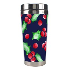 Holly Jolly Christmas Stainless Steel Travel Tumblers