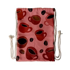 Coffee Lover Drawstring Bag (small) by BubbSnugg