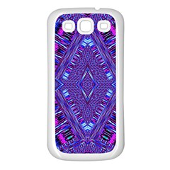 Power Pleight Samsung Galaxy S3 Back Case (white) by MRTACPANS