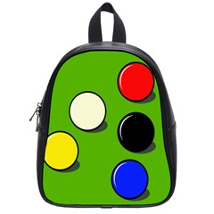 Billiard  School Bags (small)  by Valentinaart