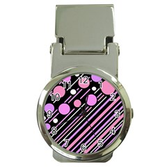 Purple Transformation Money Clip Watches by Valentinaart