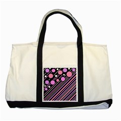 Purple Transformation Two Tone Tote Bag by Valentinaart