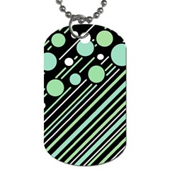 Green Transformaton Dog Tag (two Sides) by Valentinaart