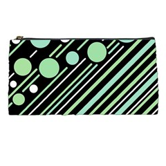 Green Transformaton Pencil Cases by Valentinaart