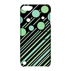 Green Transformaton Apple Ipod Touch 5 Hardshell Case With Stand by Valentinaart