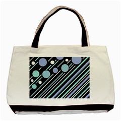 Blue Transformation Basic Tote Bag by Valentinaart